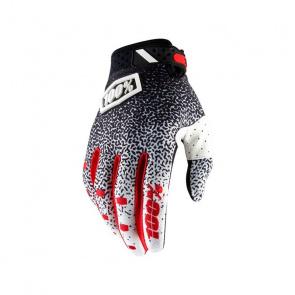 100% 100% Ridefit Handschoenen Zwart/Wit 2019