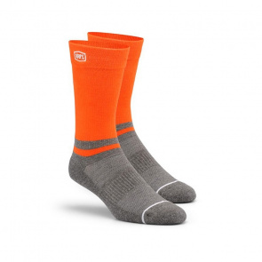 100% Chaussettes 100% Block Orange 2018