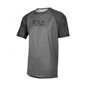 IXS IXS Progressive 8.1 Shirt met Korte Mouwen Grafiet/Zwart 2018