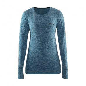 Craft Active Comfort Roundneck Ondershirt met Lange Mouwen voor Vrouwen Donkergroen 18