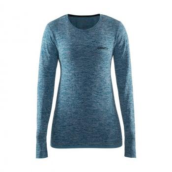 Active Comfort Roundneck Ondershirt met Lange Mouwen voor Vrouwen Donkergroen 18