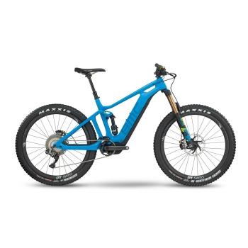 """BMC Trailfox AMP LTD 27.5""""+ Elektrische MTB Blauw/Blauw/Geel 2018"""