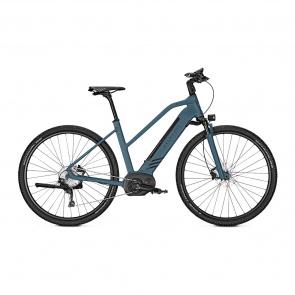 Kalkhoff Promo Vélo Electrique Kalkhoff Entice Move B9 500 Trapèze Bleu Mat 2019