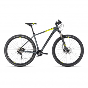 "Cube - Promo VTT 29"" Cube Attention SL Gris/Jaune 2018"