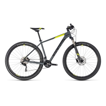 "VTT 29"" Cube Attention SL Gris/Jaune 2018"