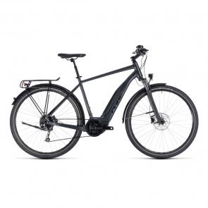 Cube - 2018 Vélo Electrique Cube Touring Hybrid One 400 Iridium/Noir 2018