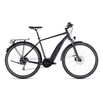 Vélo Electrique Cube Touring Hybrid One 400 Iridium/Noir 2018