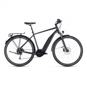 Cube - 2018 Vélo Electrique Cube Touring Hybrid One 500 Iridium/Noir 2018
