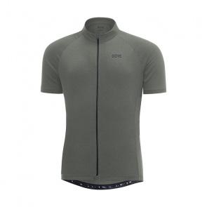 Gore Bike Wear Gore Wear C3 Shirt met Korte Mouwen Melange Castor Grijs 2018