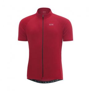 Gore Bike Wear Maillot Manches Courtes Gore Wear C3 Rouge Mélange 2018