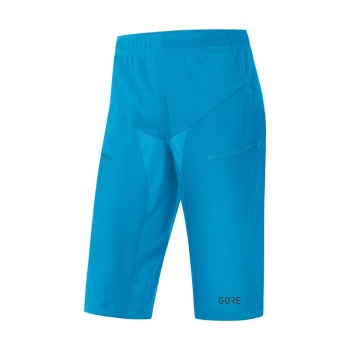 Short Gore Wear C5 Windstopper Trail Cyan Dynamique 2018