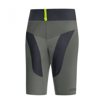 Gore Wear C5 Trail Light Short Castor Grijs/Zwart 2018