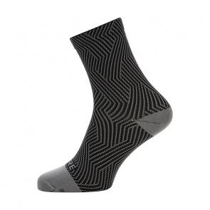 Gore Wear Chaussettes Gore Wear C3 Optiline Mid Gris Graphite/Noir 2020