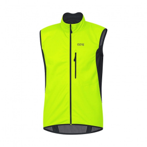 Gore Bike Wear Veste sans Manches Gore Wear C3 Windstopper Jaune Néon/Noir 2018