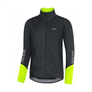 Gore Bike Wear Gore Wear C5 Gore-Tex Active Jas Zwart/Neon Geel 2018