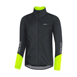 Gore Bike Wear Veste Gore Wear C5 Gore-Tex Active Noir/Jaune Néon 2018
