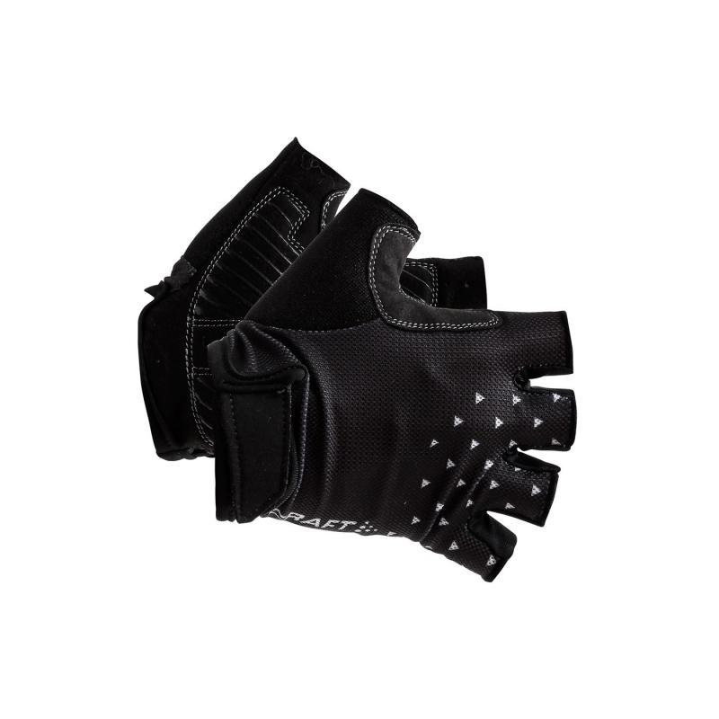 Craft Go Korte Handschoenen Zwart/Wit 2019
