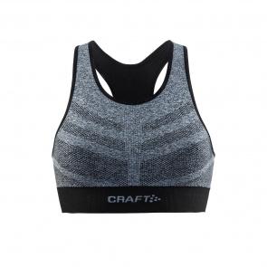 Craft Soutien-gorge Craft Comfort Mid Impact Noir Mélange 2018