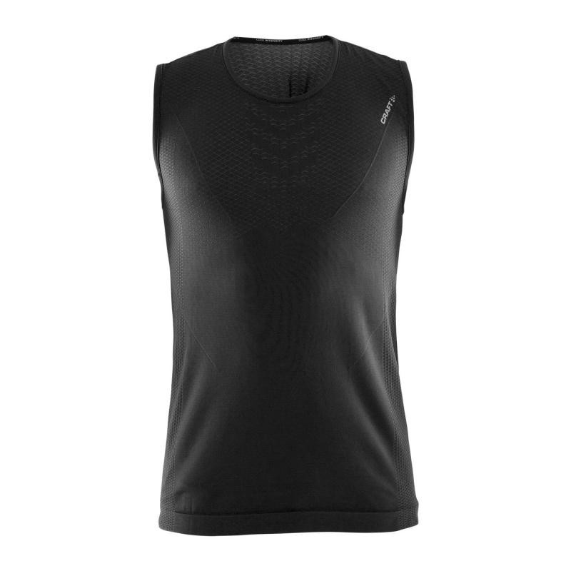 Craft Cool Intensity Roundneck Ondershirt zonder Mouwen Zwart 2018