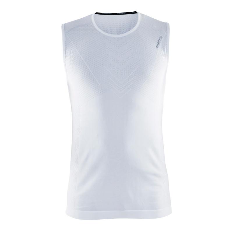 Craft Cool Intensity Roundneck Ondershirt zonder Mouwen voor Vrouwen Wit 2018