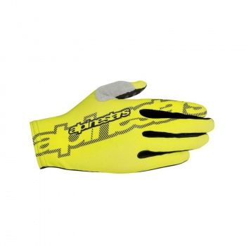 Alpinestars F-Lite Handschoenen Acid Geel/Zwart 2018