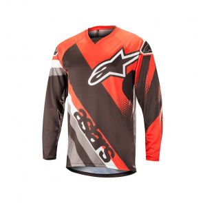 Alpinestars Alpinestars Racer Shirt met Lange Mouwen Rood/Zwart 2018