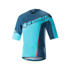 Alpinestars Alpinestars Crest Shirt met 3/4 Mouwen Poseidon Blauw/Atoll Blauw 2018