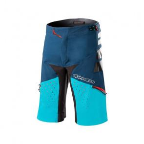 Alpinestars Short Alpinestars Drop Pro Bleu Poseidon/Bleu Atoll 2018