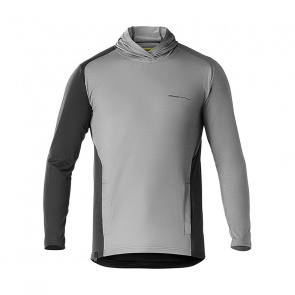 Mavic textile Mavic XA Elite Hoodie Shirt met Lange Mouwen Pirate Zwart 2018