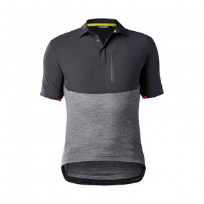 Mavic textile Mavic Allroad Shirt met Korte Mouwen Zwart/Asfalt 2018