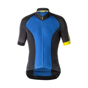 Mavic textile Maillot Manches Courtes Mavic Cosmic Elite Bleu True 2018