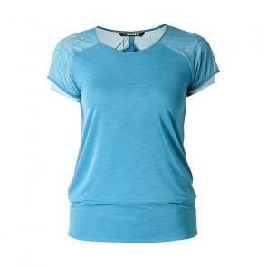 Mavic textile Mavic Echappée Shirt met Korte Mouwen voor Vrouwen Moon Blauw 2018