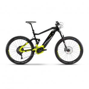 "Haibike - Promo Haibike SDuro FullSeven LT 9.0 500 27.5"" Elektrische MTB Titanium/Geel 2018"