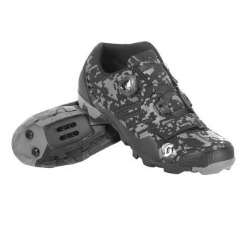 Chaussures VTT Scott MTB Comp Boa Noir Mat/Argent 2017