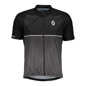 Scott textile Scott Endurance 30 Shirt met Korte Mouwen Zwart/Donkergrijs 2018