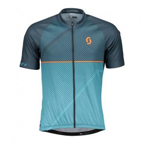 Scott textile Scott Endurance 30 Shirt met Korte Mouwen Nightfall Blauw/Larkspur Blauw 2018