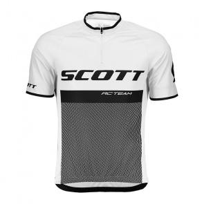 Scott textile Maillot Manches Courtes Scott RC Team 20 Blanc 2018