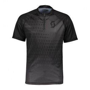 Scott textile Scott Trail 40 Shirt met Korte Mouwen Zwart/Donkergrijs 2018