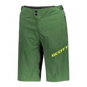 Scott textile Short avec Peau Scott Endurance Vert Ivy Foncé 2018