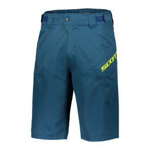 Scott textile Short avec peau Scott Trail 50 Bleu Lunar 2018