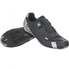 Scott textile Chaussures Route Scott Comp Boa Noir Mat/Argent 2020