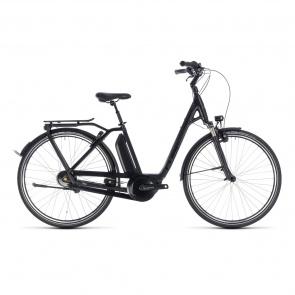 Vélo Electrique Cube Town Hybrid Pro 400 Easy Entry Noir/Gris 2018