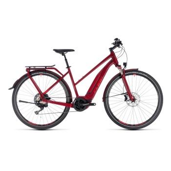 Vélo Electrique Cube Touring Hybrid EXC 500 Trapèze Rouge Foncé 2018 (131201)