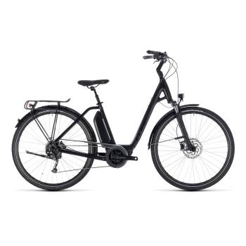 Vélo Electrique Cube Town Hybrid Sport 500 Easy Entry Noir 2018