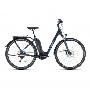 Cube - 2018 Cube Touring Hybrid Pro 400 Easy Entry Elektrische Fiets Donkerblauw 2018