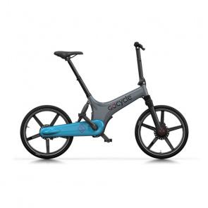 GoCycle Vélo Electrique GoCycle GS Gris/Bleu Clair 2018