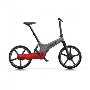 GoCycle Vélo Electrique GoCycle GS Gris/Rouge 2018