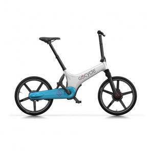 GoCycle Vélo Electrique GoCycle GS Blanc/Bleu Clair 2018