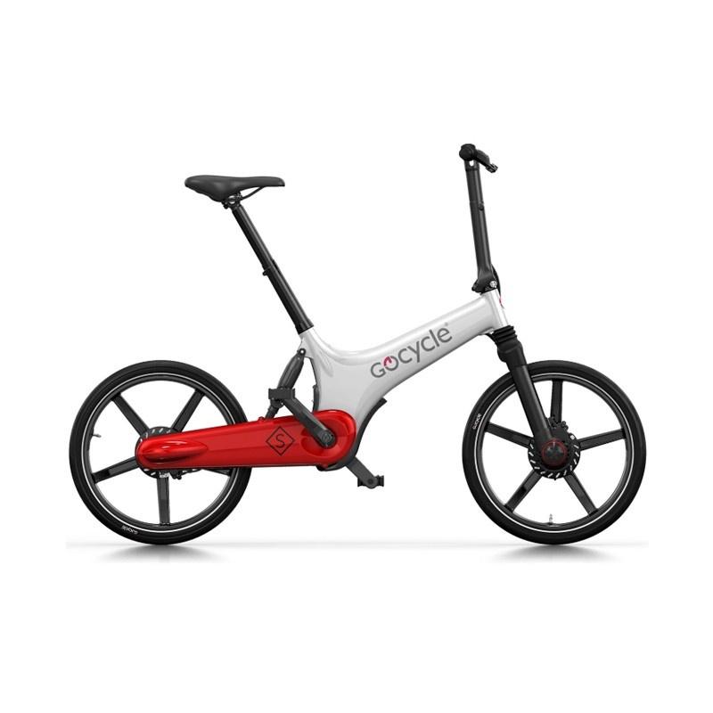 Vélo Electrique GoCycle GS Blanc/Rouge 2018