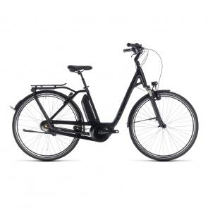Cube - Promo Vélo Electrique Cube Town Hybrid Pro 500 Easy Entry Noir/Gris 2018 (132201)